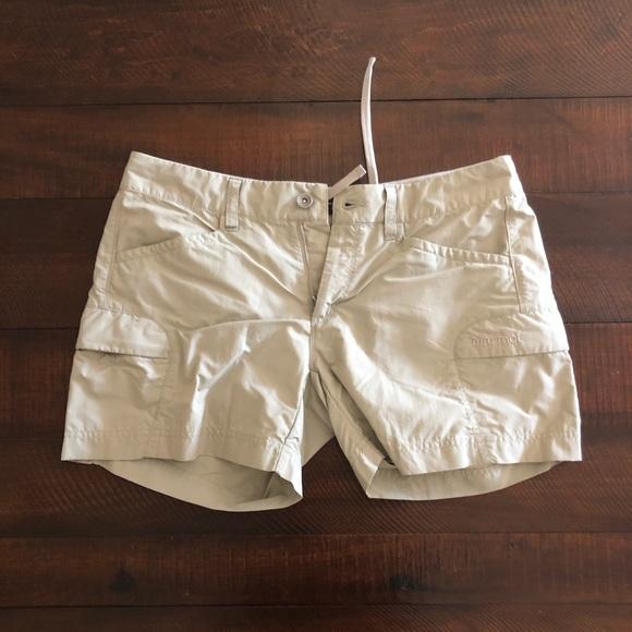 Marmot Tan Khaki Ani Cargo Shorts 8
